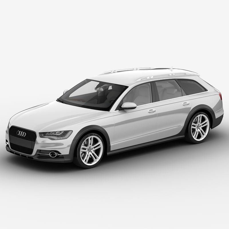 Audi A6 2013 3d Max