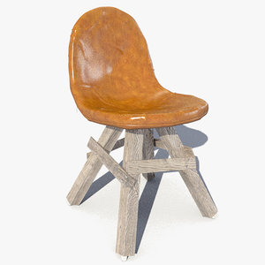 3d icon chair