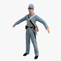 3d confederate soldier
