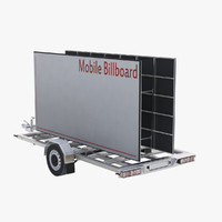 billboard mobile 3d model