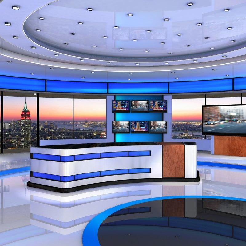 American news studio 3d max for 3d studio max download