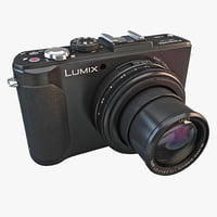 3ds max panasonic lumix dmc-lx7k