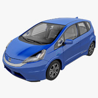 Honda Fit EV 2013 Rigged