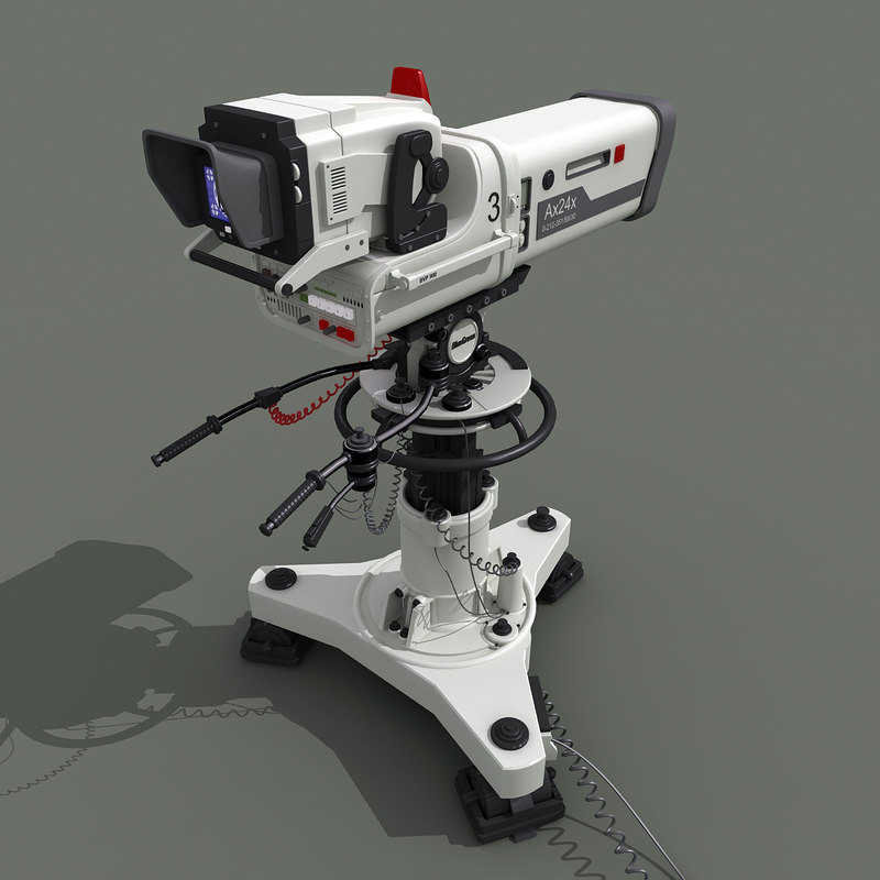 studio camera 3d model
