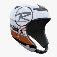 3d alpine helmet model