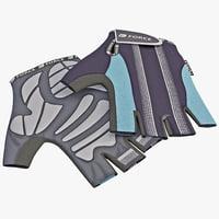 Bike Short Finger Gloves