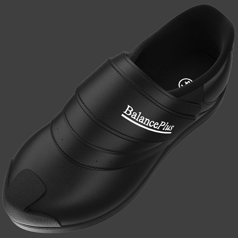 3d model balance 300 curling shoe