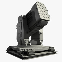airframe missile launcher 3d max