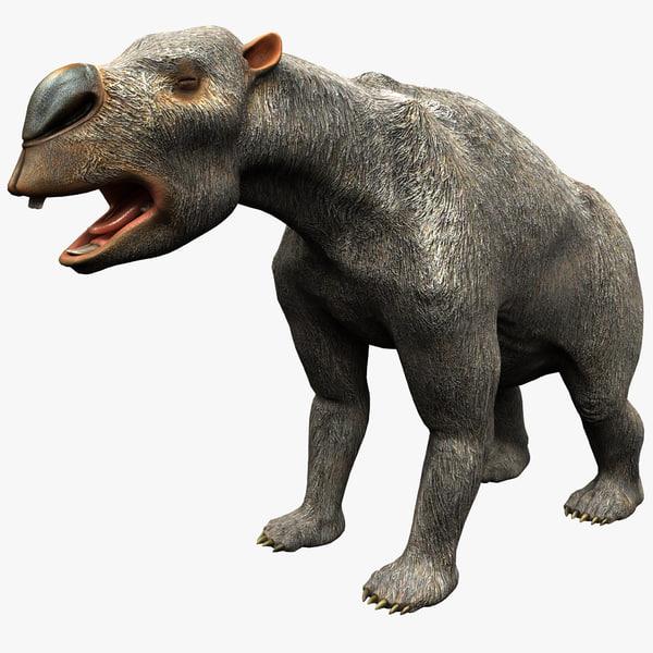 diprotodon 2 3d max