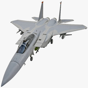 mcdonnell douglas f-15 eagle 3d max
