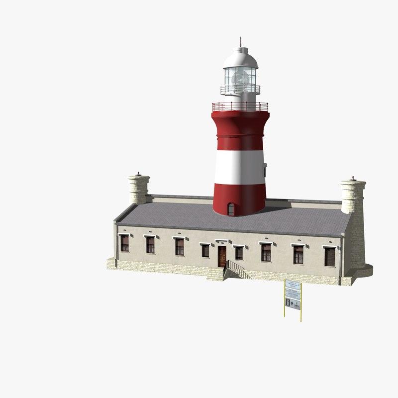 max cape aghulas lighthouse light