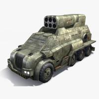 Rocket Launcher Truck