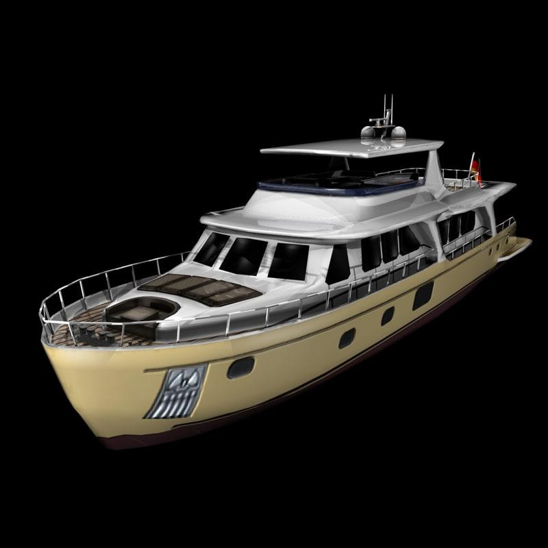 3d yacht vicem 100