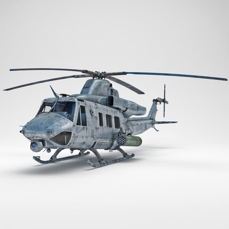 3d bell uh-1y venom 2 model