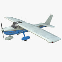 3d civil aircraft cessna t-51