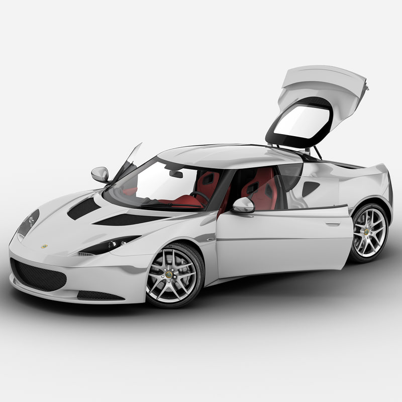 3d model evora s 2013 rigged car