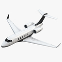 business jet 3D models