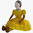 China Doll 3D models