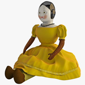 antique china doll max