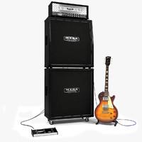 Mesa Dual Rectifier & Les Paul Guitar