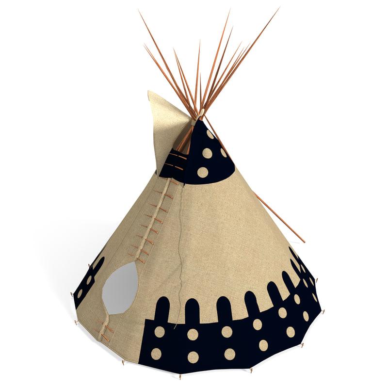 max indian teepee