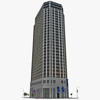 ny pearl street building 3d model