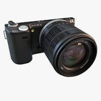 Sony NEX 5N Touchscreen Camera