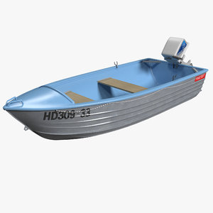 trimcraft boat 2 3d max