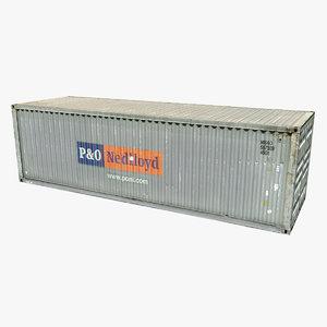 container p o nedlloyd max
