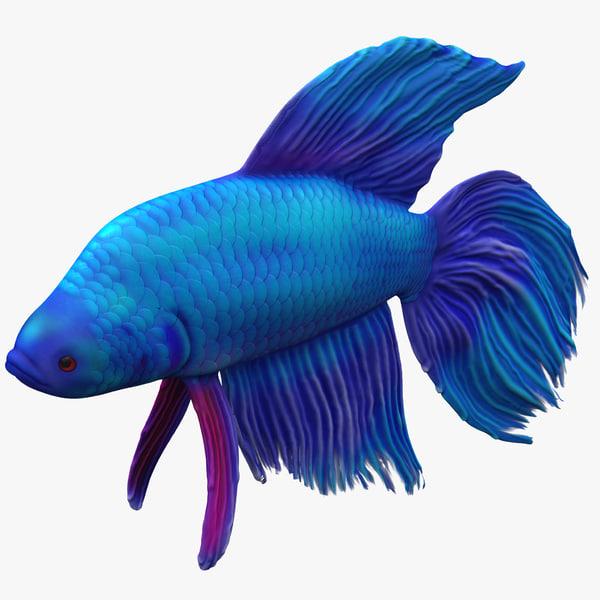 3ds max betta fish