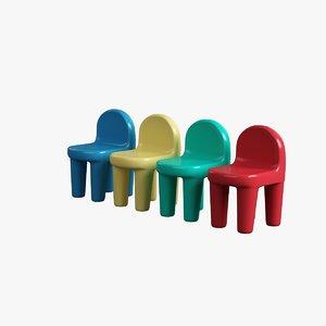 children chair obj