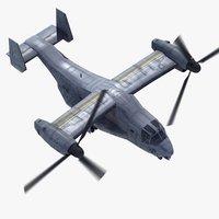 3d mv-22b osprey v22