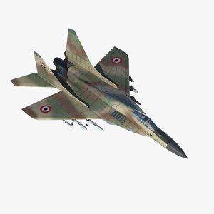 max mig29 fulcrum fighter syrian