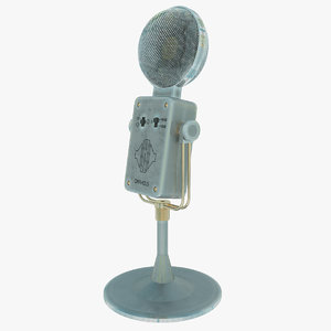 orpheus condenser microphone 3d 3ds