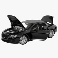 Bentley Continental GT 2014 Rigged