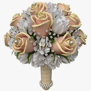 bouquet v15 3d model