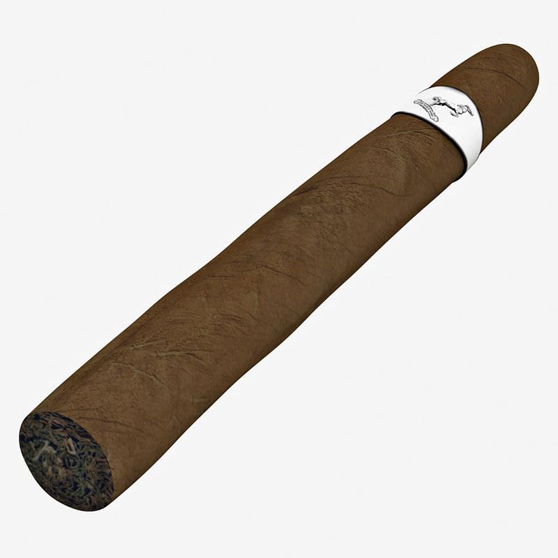 3d cigar 2 model