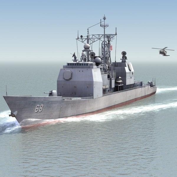 AEGIS Cruiser CG68 UH60B