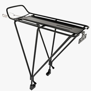 bike rear rack 2 3d max