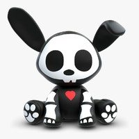 Skelanimal Jack Rabbit Toy
