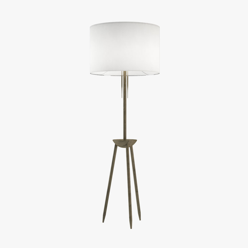 3d bddw tripod lamp