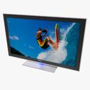 Samsung UN55 B8000 3D models