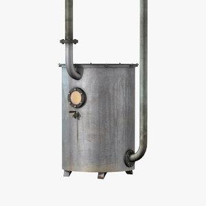 3d model of distilling