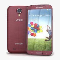 Samsung I9506 Galaxy S4 Red Aurora