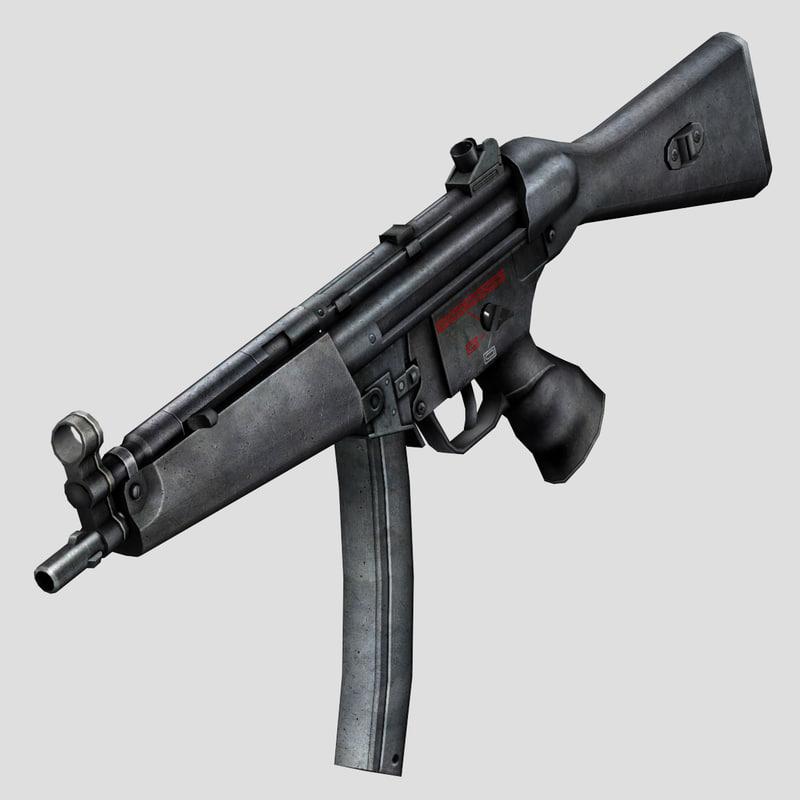 3d model gun games