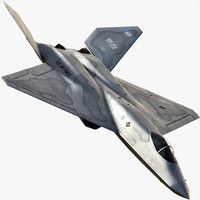 3ds max yf-23 black widow