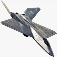 3ds max yf-23 black widow