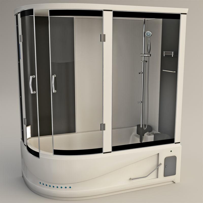 shower room 3d model