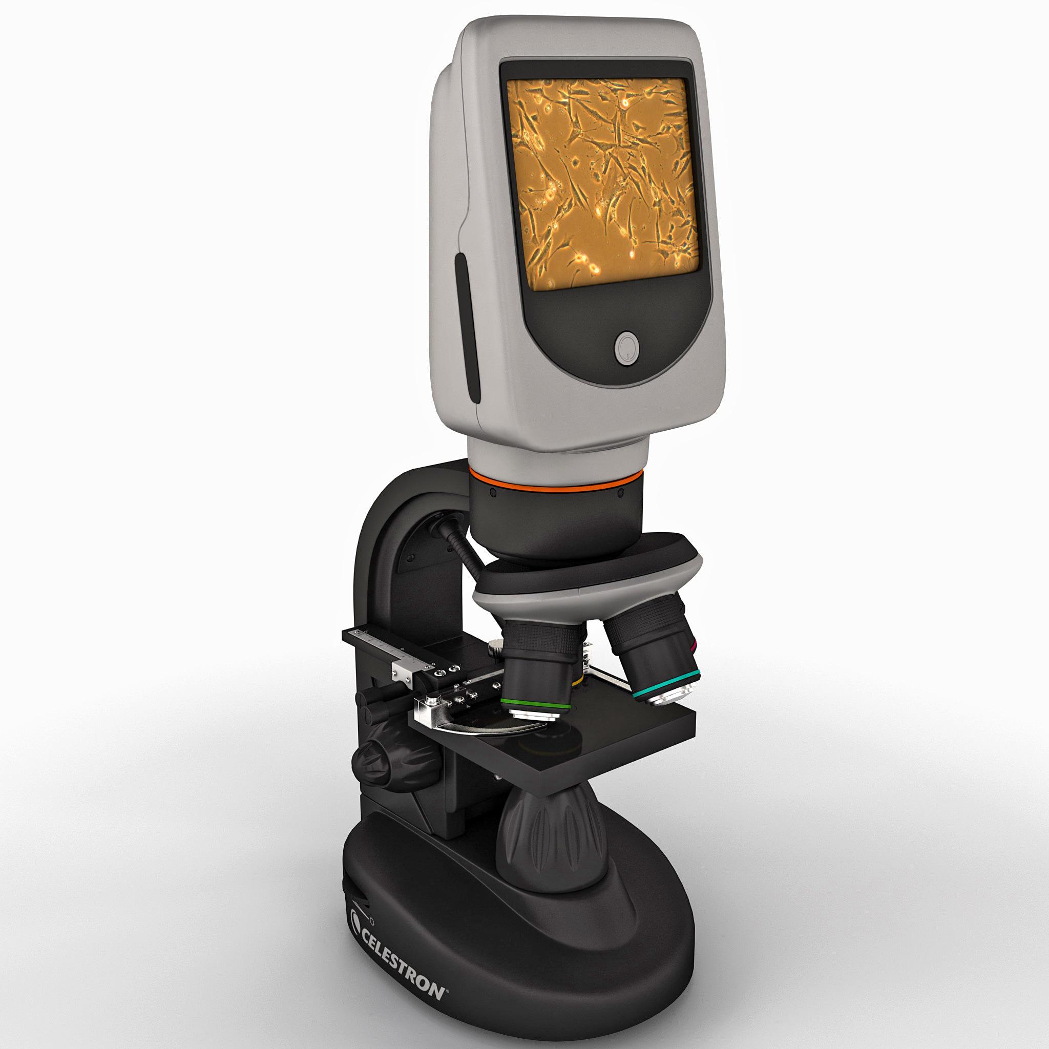 digital microscope celestron lcd max