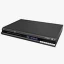 DVD Player 3D models